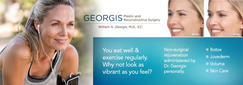 Dr. William Georgis - Rockford - Plastic Cosmetic Surgery - Botox Juvederm