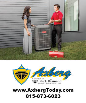 Axberg Black Diamond - HVAC Contractors Rockford - fit815 - FitMe Wellness