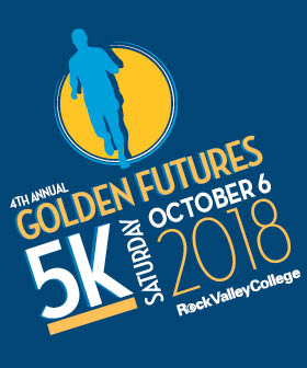 Rock Valley College Golden Futures 5k Run - fit815 Magazine - FitMe Wellness - Rockford Gym