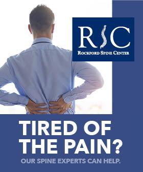 Rockford Spine Center - fit815 Magazine - FitMe Wellness - Rockford Health Club Gym
