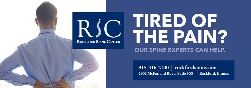 Rockford Spine Center - fit815 Magazine - FitMe Wellness - Rockford Gym
