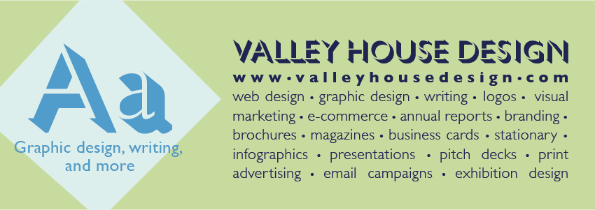 Tyler Rudick - Valley House Design - Writing and Graphic Design - Rockford IL