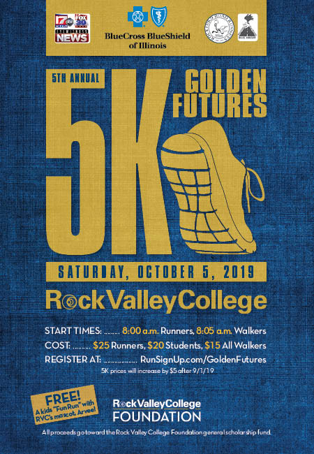 Rock Valley College 5K Golden Futures